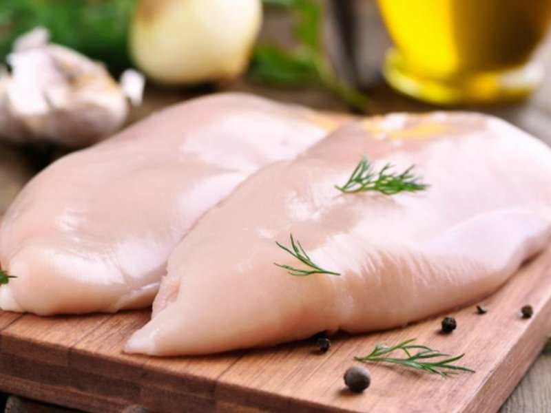 Russian brand chicken tested for quality and found weights weight
