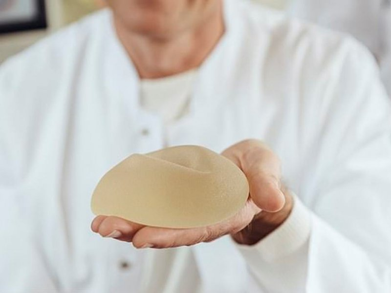 Silicone implants are threatened with skin cancer and arthritis