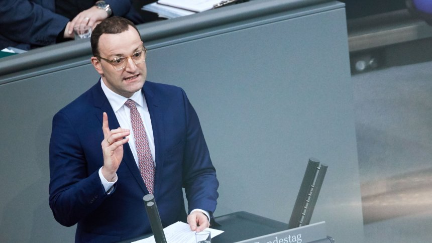Spahn defends contradiction solution in the Bundestag