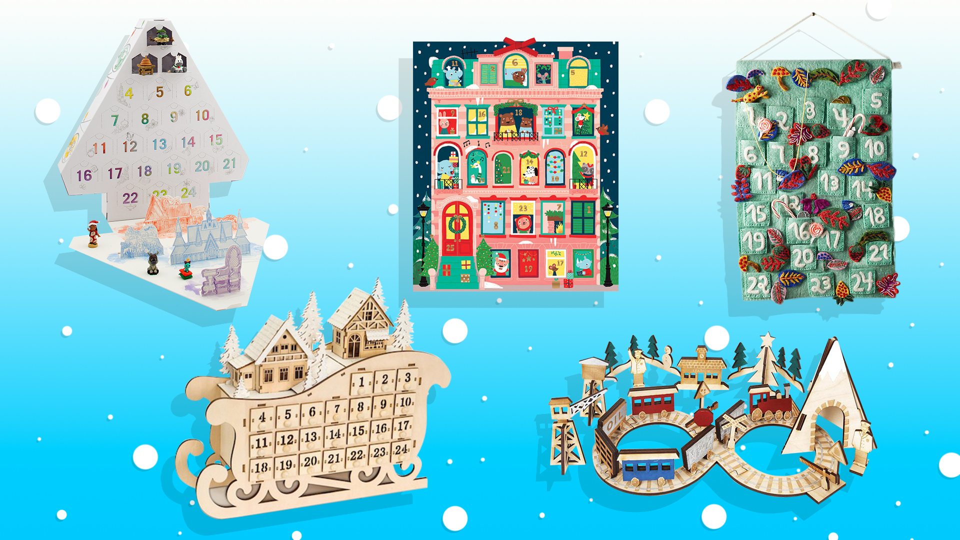 Surprisingly Chic Advent Calendars for Kids