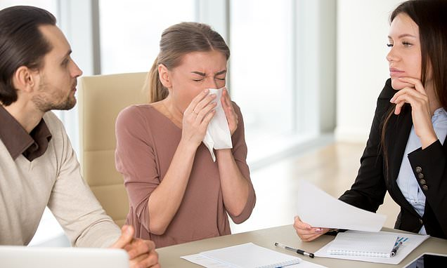 Etiquette expert reveals her six ways to manage your cough politely