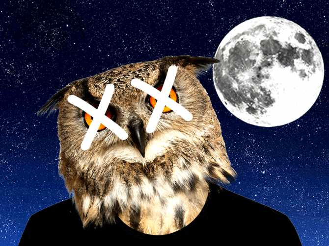 From owl to lark: why being a night owl is bad for health