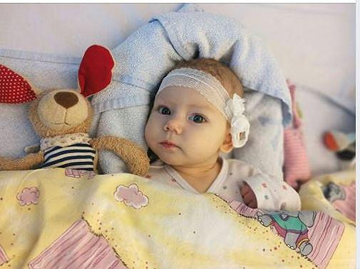 Only four months old: parents are looking for stem cell donors for the small Leevke