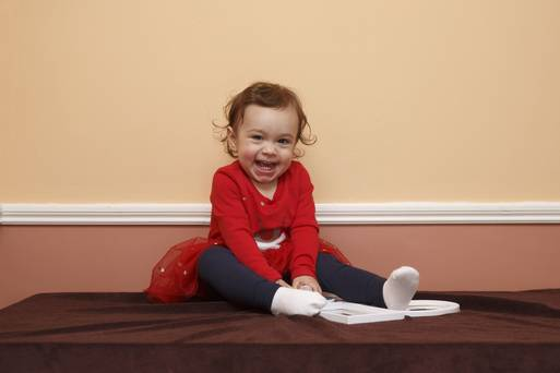 Introducing the winner of our 'Picture Your Baby' competition: Meet 17-month-old Sarah