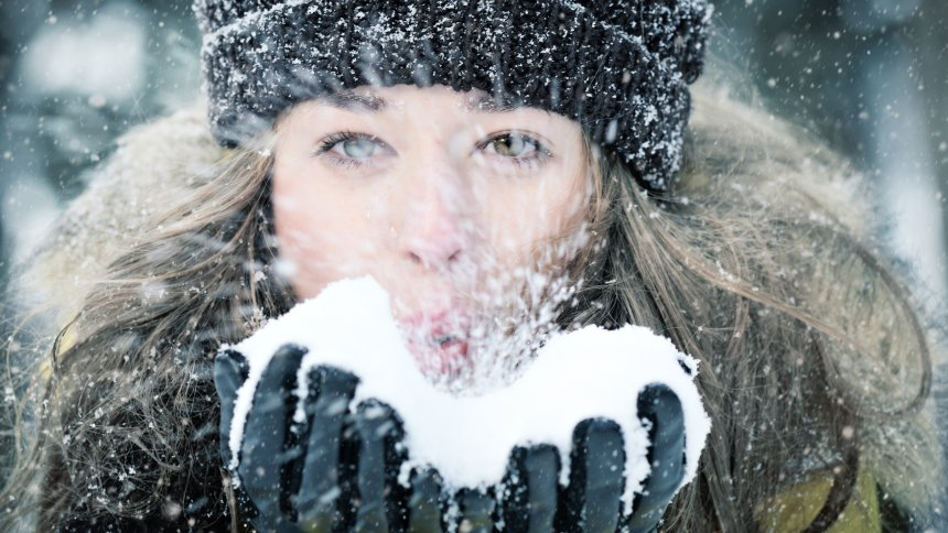 With healthy skin through the Winter