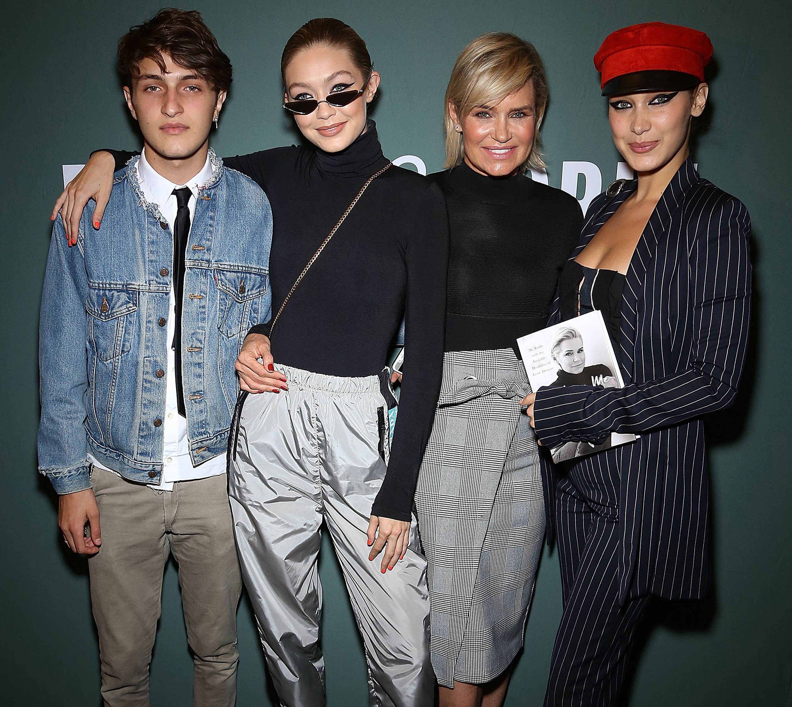 Yolanda Hadid Slams Suggestion Her Model Children Have Had Cosmetic Fillers or Botox Injected