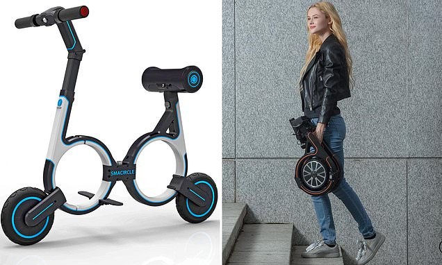 The £691 electric bicycle which can fit in your backpack