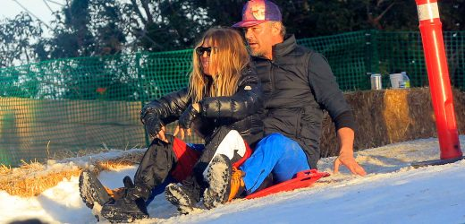 Exes Josh Duhamel and Fergie Reunite to Host Fun Snow Day With Son Axl: Pics