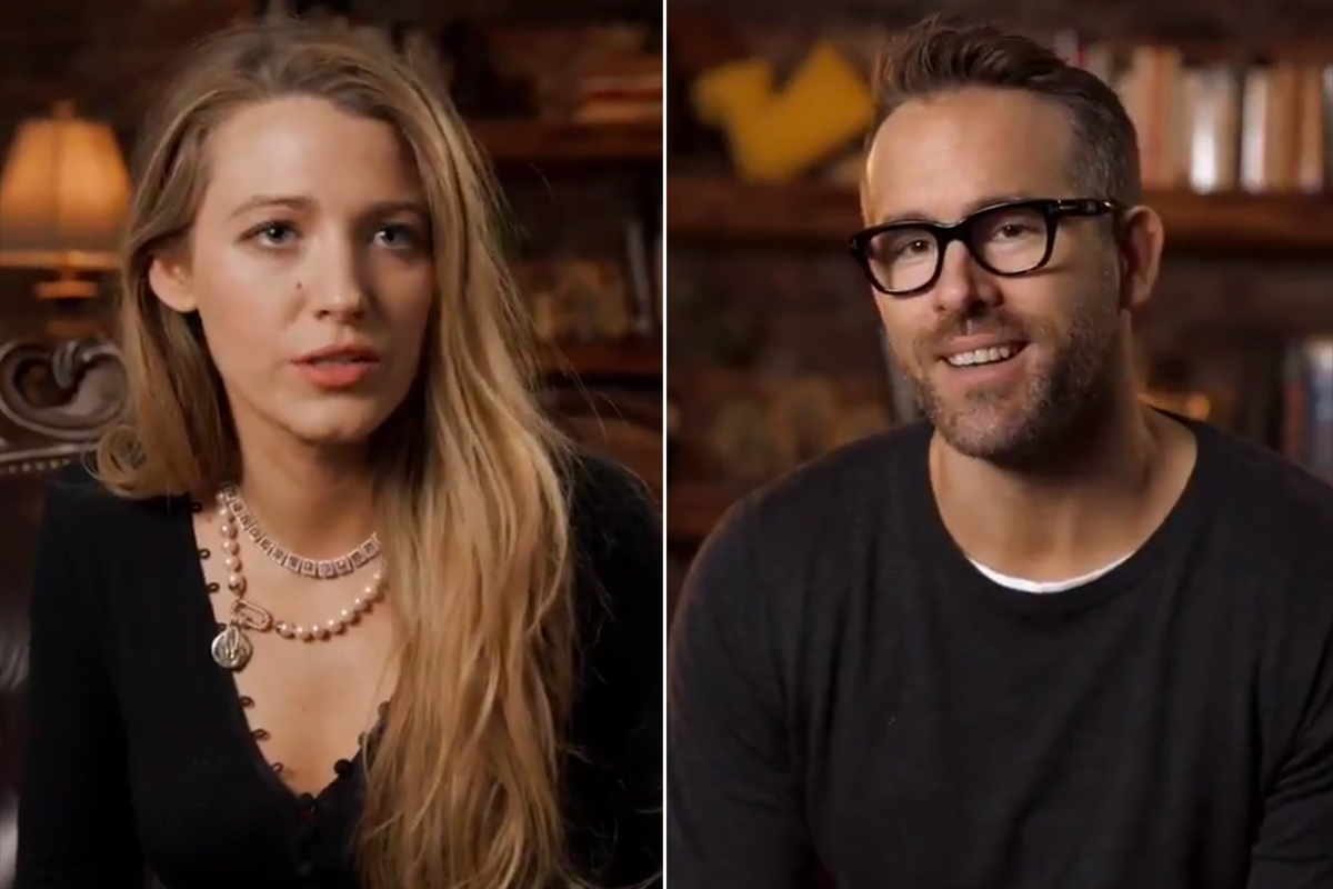Blake Lively Pokes Fun at Husband Ryan Reynolds' Parenting Skills: 'He Just Left' Our Kids