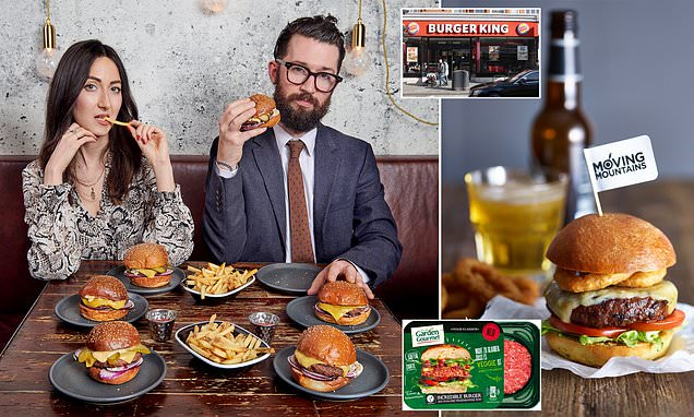 Mail on Sunday reviews new breed of vegan burgers created in a lab