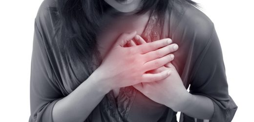 The height of the resting heart rate shows increased risk of death