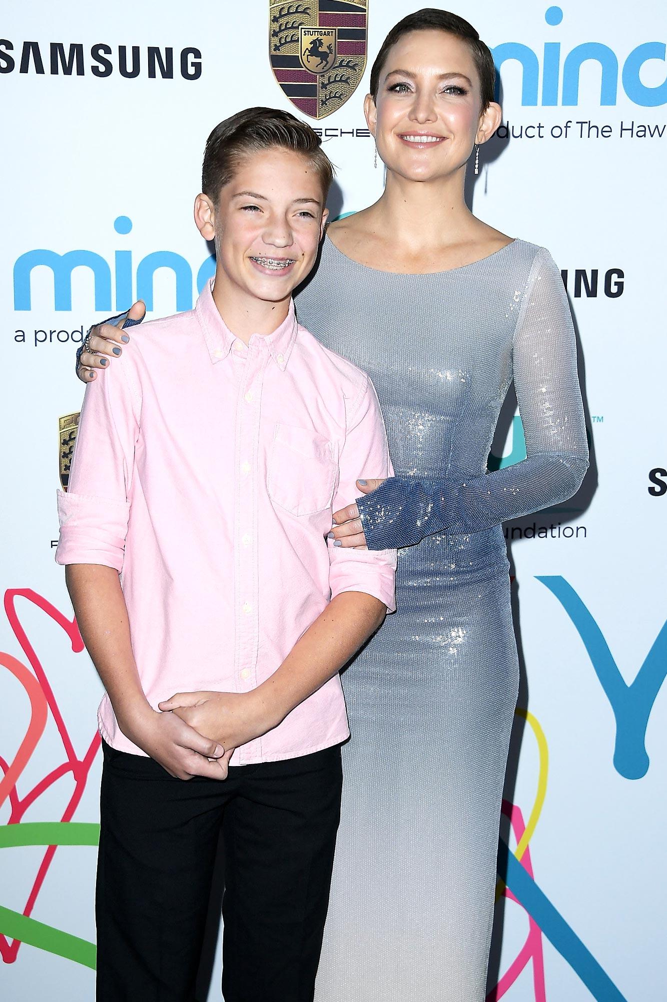 Kate Hudson Jokes She 'Was Like a Teen Mom' When She Had Son Ryder: 'I Was Like 12'