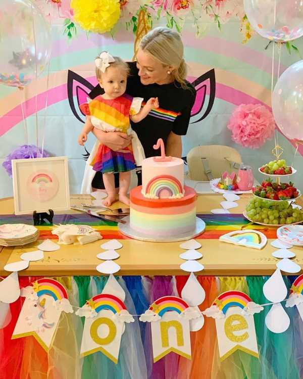 Jamie Lynn Spears Celebrates Daughter Ivey's First Birthday with Adorable Rainbow-Themed Party