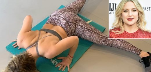 Kate Hudson Does Crazy-Hard Push-Ups to Tone Up: 'Getting Stronger!'