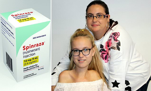 Girl, 15, delighted because NHS made a life-changing drug available