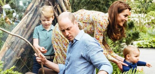 Watch Prince George Rate Mom Duchess Kate's Garden a '20' Out of 10