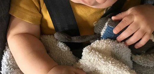 Infinity Snore! Chip Gaines' Son Crew Sleeps Soundly While Channeling Marvel Villain Thanos