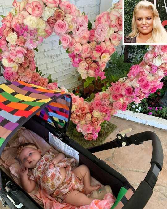 Jessica Simpson Shares Adorable Photo of Daughter Birdie on First Mother's Day as a Mom of Three