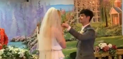 Sophie Turner and Joe Jonas Got Married on Diplo's Instagram Live and it Was Perfect