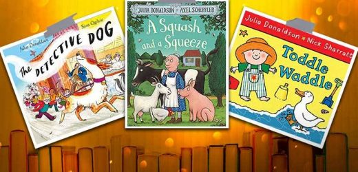 Wondering what to read to your toddler? Pick up these books by Julia Donaldson
