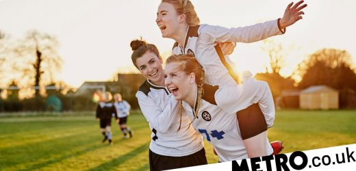 'Blood, Sweat and No Fears' encourages girls to keep being active during periods