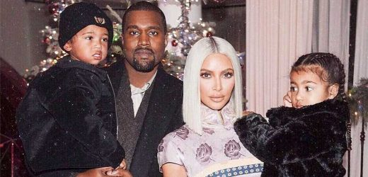 Kim Kardashian and Kanye West's Sweetest Moments With Their Kids