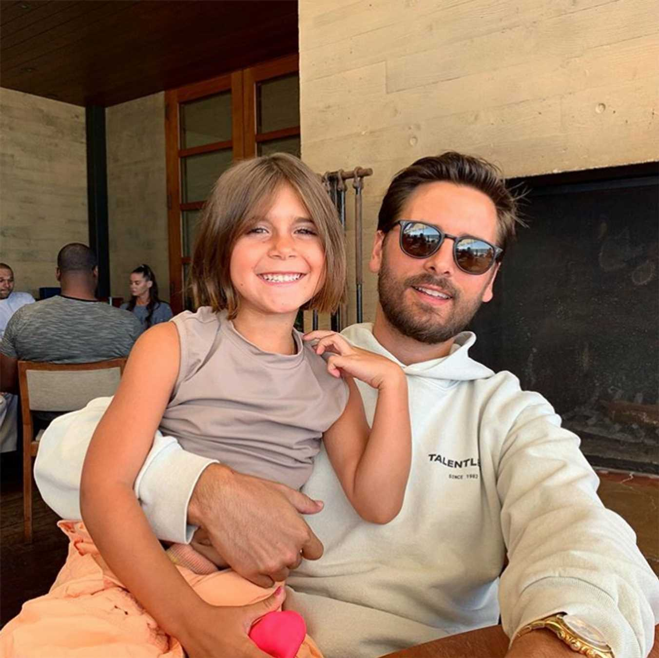 Scott Disick Poses with Daughter Penelope as He Says His Kids Are His 'Real Love and Passion'