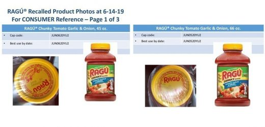 Ragú pasta sauces recalled over possible plastic fragment concerns
