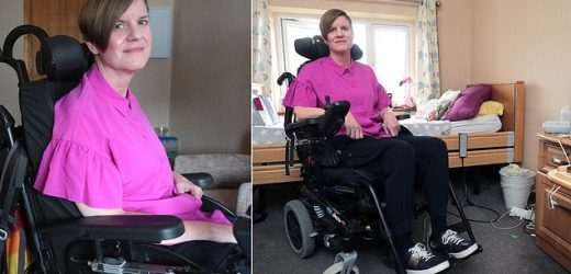 Why has MS sufferer Nina been left to rot in nursing home at just 46?