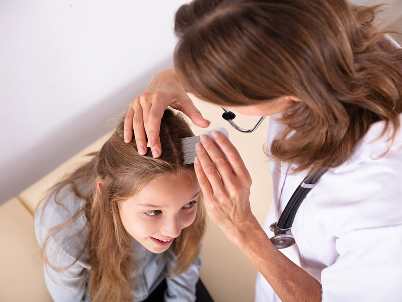 Lice: Not always itch the head