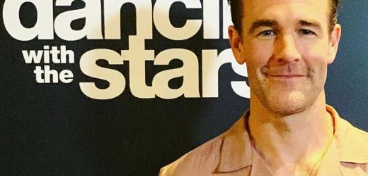 James Van Der Beek Shares Adorable Video of His 5 Kids Cheering for His DWTS Announcement