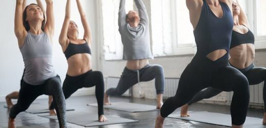 Patients with high blood pressure gain benefits from hot yoga
