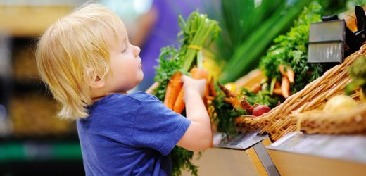 Simple Trick: for example, children eat more vegetables