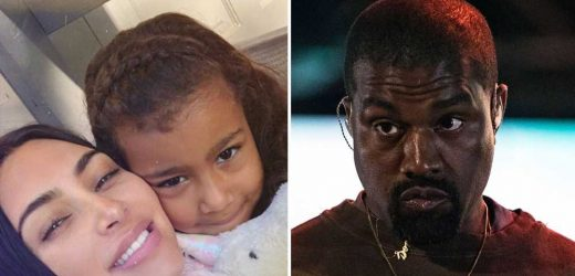 Kanye West Told Kim Kardashian 'No More Makeup' for North