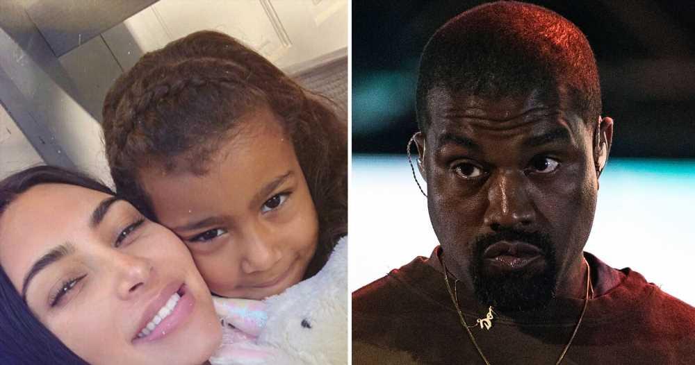 Kanye West Told Kim Kardashian 'No More Makeup' for North