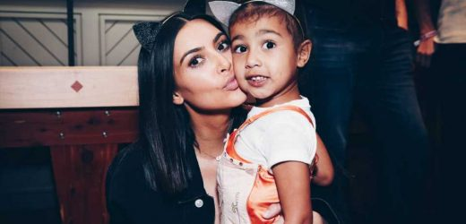 Kim Kardashian Reveals That She Got a Manicure While In Labor With North