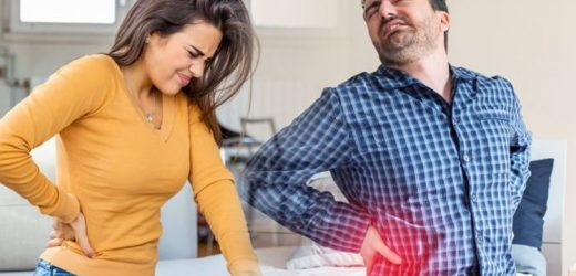 Back pain: The three best at home exercises to help ease back pain