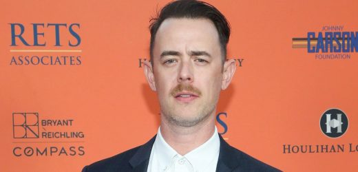 LOL! Colin Hanks Feels Like 'an Uber Driver' With Kids Back in School