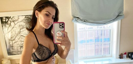 Pregnant Hilaria Baldwin Posts Lingerie Pic: 'Made It Through' 1st Trimester