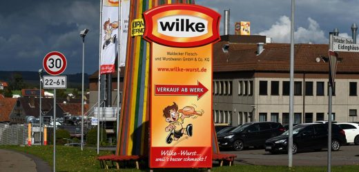Despite the recall due to deaths: rehab patients were more Wilke-Wurst