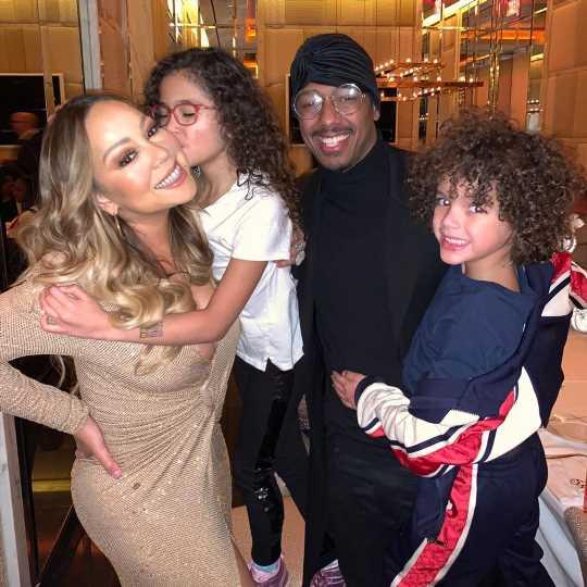 'Thankful' Mariah Carey Celebrates 'Blessings' with Nick Cannon, Boyfriend Bryan Tanaka & Kids