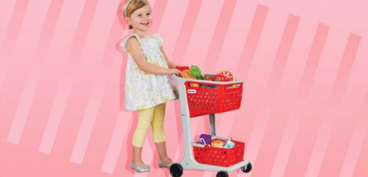 These Toy Shopping Carts Look *Just* Like The Real Things