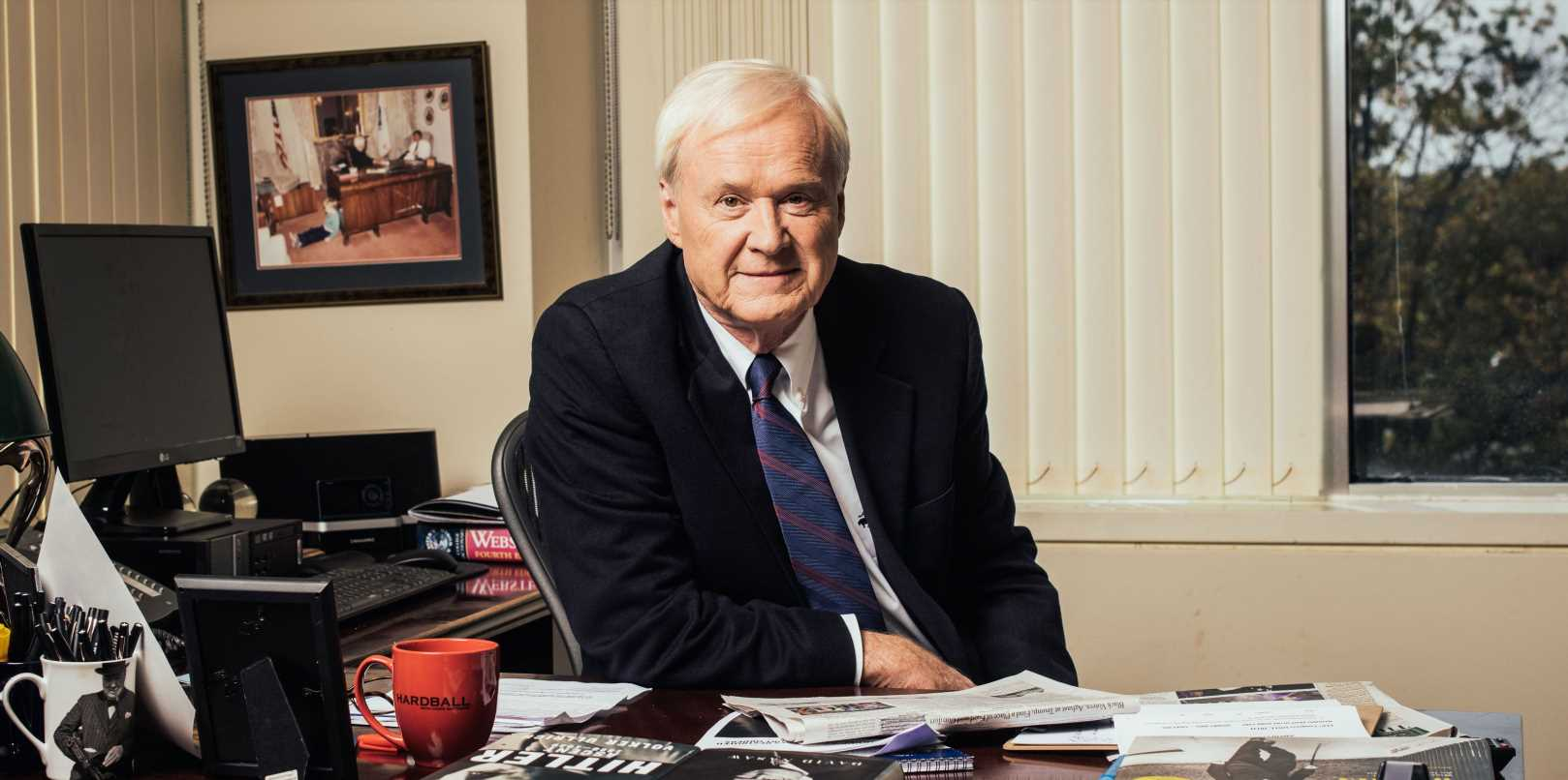 Chris Matthews Opens Up About His Battle With Prostate Cancer