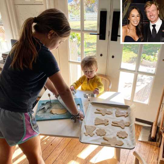 Joanna Gaines' Daughter Emmie and Son Crew Team Up in the Kitchen: 'Her Own Cookie Recipe'