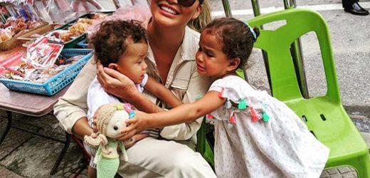 Chrissy Teigen Talks Motherhood – Her Kids' Names, Nannies, Paparazzi and More – in Twitter Q&A