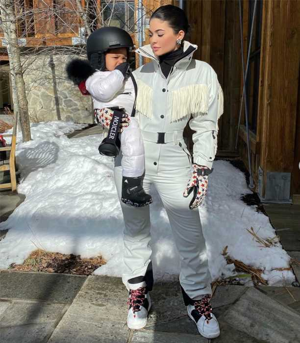 Kylie Jenner Was 'Beyond Excited' About 22-Month-Old Daughter Stormi's 'First' Snow Trip: Source
