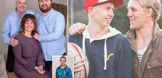 England rugby hero's bond with a teenager with cancer changed his life