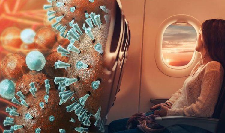 Coronavirus outbreak: What to do if you are flying –  eight tips to avoid killer virus