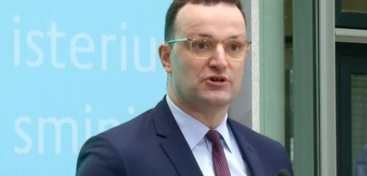 Spahn to Coronavirus: Possible little touch the face