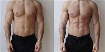 Watch This Guy Go From Lean to Shredded in 14 Days